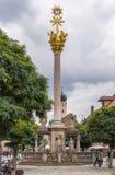Столбец святой троицы, Straubing, Германия стоковое фото