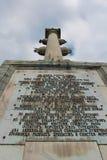 Столбец Chesme. Tsarskoye Selo, Россия. стоковое изображение