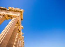 Столбец Grecce стоковое изображение rf