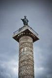 Столбец Trajan Стоковое Изображение