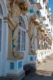 Столбцы дворца Катрина Стоковая Фотография