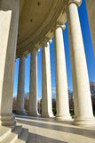 Столбцы мемориала Томас Джефферсон Вашингтон, США Стоковое Изображение RF