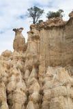 Столбцы песчаника в Ille-sur-Têt, Франции Стоковое фото RF