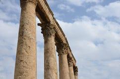 Столбцы, римский театр Стоковое Изображение RF