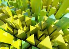 Столбцы треугольника Стоковая Фотография