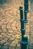 Столбы в улице Стоковые Фотографии RF
