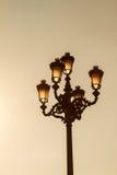 Столб лампы Стоковые Фотографии RF