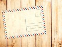 столб карточки старый Стоковое Изображение RF