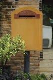 столб коробки ретро Стоковая Фотография