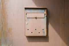 столб коробки старый Стоковое Фото