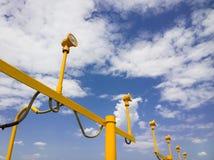 Столб светильника Стоковое Фото