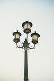 Столб уличного фонаря Стоковое Изображение RF