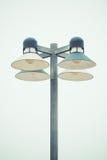 Столб уличного фонаря Стоковые Фото