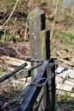Столб цемента Стоковая Фотография