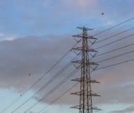 Столб электричества Стоковая Фотография RF