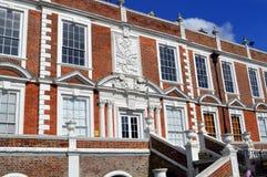 15 столетие историческое Croxteth Hall в Ливерпуле Стоковое Фото
