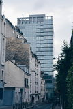 Столетие реновации XX Парижа архитектурноакустическое Стоковое фото RF