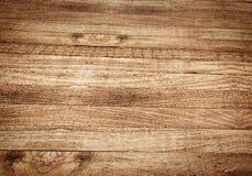 Столешница перспективы, деревянная текстура Стоковая Фотография