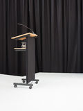Стол диктора на этапе Стоковая Фотография