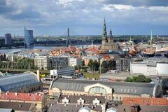 Столица Латвии Риги Стоковые Изображения RF