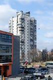 Столица Литвы - Вильнюса Стоковое Изображение RF