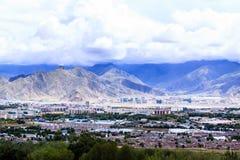Столица Тибета Стоковое Изображение