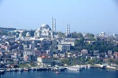 Столица Турция Стамбула города Стоковая Фотография RF