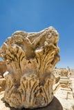 Столица, Jerash Стоковые Фото