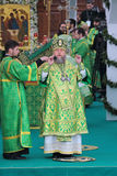Столичный Александр (Mogilev) Астаны и Казахстана Стоковое фото RF