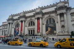 Столичный музей изобразительных искусств - Нью-Йорк, США стоковое фото rf