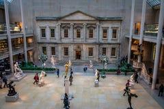 Столичный музей изобразительных искусств - Нью-Йорк, США стоковые фото