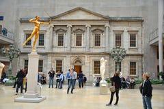 Столичный музей изобразительных искусств, NYC стоковые фото