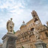 Столичный собор предположения девой марии в Палермо Стоковые Фотографии RF