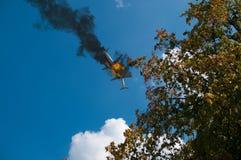 Столкновение воздушных судн стоковые изображения
