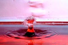 Столкновение падения воды стоковая фотография