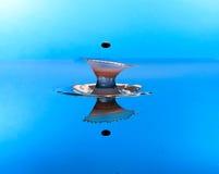 Столкновение падения воды стоковые фотографии rf
