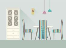 Столовая 2 дизайна Стоковое Изображение