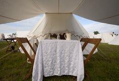 Столовая шатра 1812 Стоковая Фотография RF