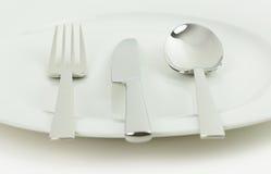 Столовый прибор и посуда Стоковые Фото