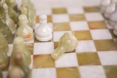 Стол шахмат Стоковое Изображение