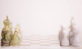 Стол шахмат Стоковые Фото