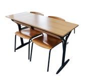 Стол школы Брайна Стоковая Фотография RF