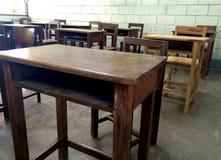 Стол школы Стоковые Изображения RF