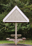 Стол для пикника Стоковое Изображение RF
