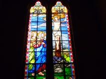 Страдая Иисус стоковое изображение rf