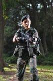 страна защищая франтовской воина Стоковое фото RF