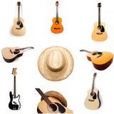 Страна и западная музыка Стоковая Фотография