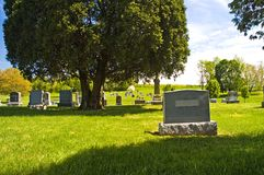 страна кладбища Стоковые Изображения RF