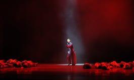 Страна потерпеть и поступок дома потерянный- третий событий драмы-Shawan танца прошлого Стоковое фото RF