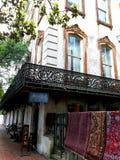Страна предыдущая Америка исторической южной архитектуры низкая стоковое фото rf